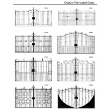 Custom fabricated gates