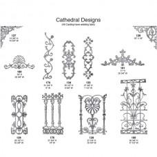 Cast Aluminum Cathedra Pontalba